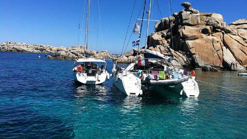 Croisière catamaran en Corse
