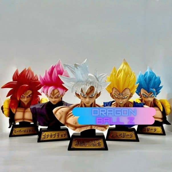 Figurine Dragon Ball Z Buste Led 2000x