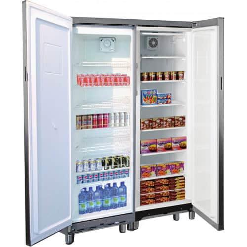 armoire refrigeree double mixte professionnelle tensai